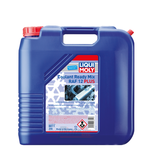 Liqui Moly Coolant Ready Mix RAF12 Plus (8811)