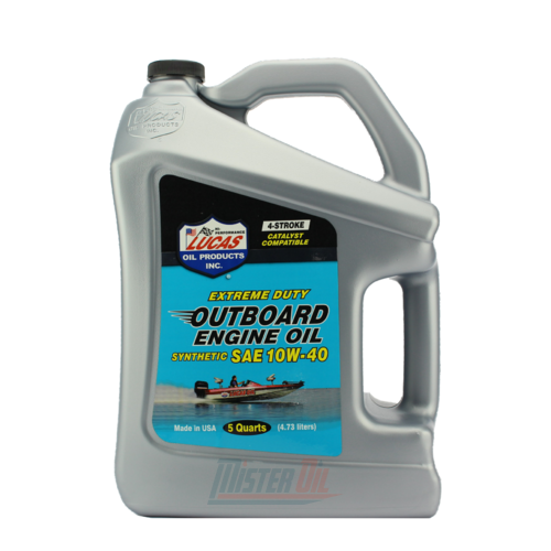 Lucas Oil Outboard Synthetic Engine Oil (10813) - 1