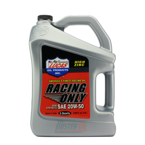 Lucas Oil Semi-Synthetic Racing Motor Oil (10378)