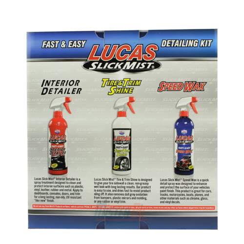 Lucas Oil Slick Mist Detailing Kit (10558) - 1