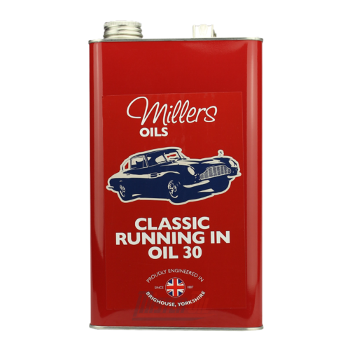 Millers Oil Classic Pistoneeze Running In Oil