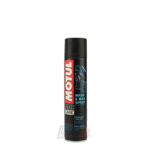 Motul E9 Wash And Wax Aerosol